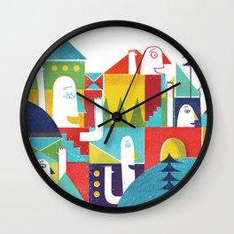 happy people Wall Clock