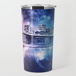 New York, Brooklyn Bridge Travel Mug