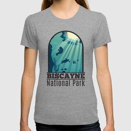 Biscayne National Park Florida Underwater Maritime T-shirt