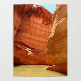 Antelope Canyon On Lake Powell Poster