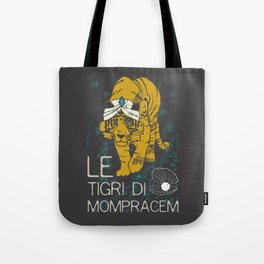Books Collection: Sandokan, The Tigers of Mompracem Tote Bag