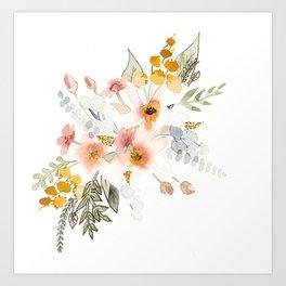 Your Mind Is Garden Art Print