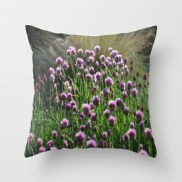 Chives 2 Throw Pillow