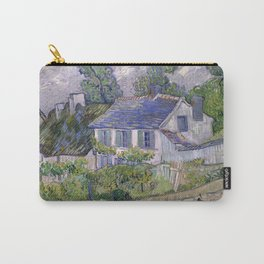 Houses at Auvers by Vincent Van Gogh Carry-All Pouch