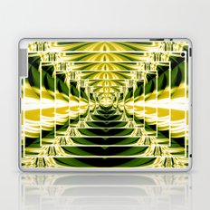Abstract.Green,Yellow,Black,White,Lime. Laptop & iPad Skin