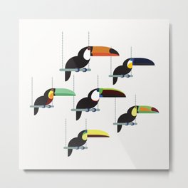 The toucans Metal Print