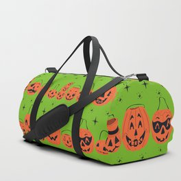 Trick or Treat Smell My Feet- Green Duffle Bag