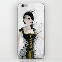 angel iPhone & iPod Skins featuring Angel by Melissa Smith