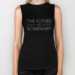 The Future is Nonbinary Biker Tank