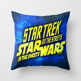 Sithfts - Streets vs. Sheets Throw Pillow