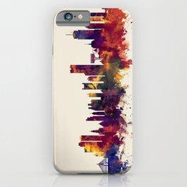 Boston Massachusetts Skyline iPhone Case