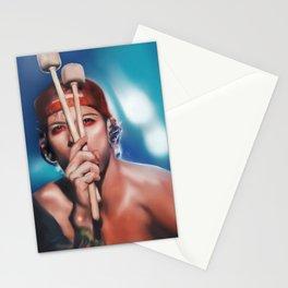 Drummer Boy Stationery Cards