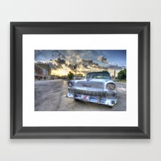 Gonzales Chevy Framed Art Print