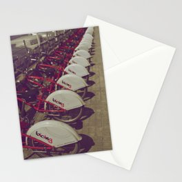 Barcelona, Spain - All In A Row Stationery Cards