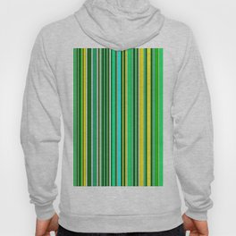 GREEN SPRING STRIPES Hoody