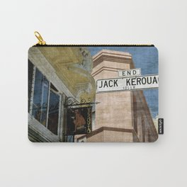Jack Kerouac Alley and Vesuvio Pub Carry-All Pouch