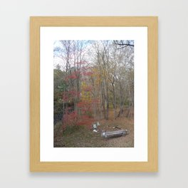 the mourning after #94 Framed Art Print