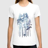 winter T-shirts featuring Winter Wolf by Robert Farkas