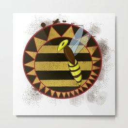 Hornets Logo Metal Print