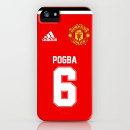 Pogba Edititon - Manchester United Home 2017/18 iPhone Case