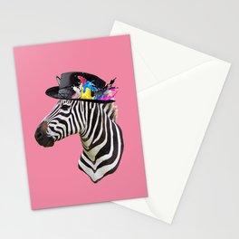 Crazy Zebra Stationery Cards