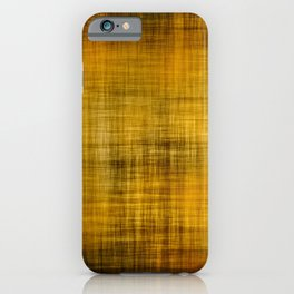 Grunge yellow iPhone Case