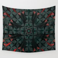 cyberpunk Wall Tapestries featuring Crucible by Obvious Warrior