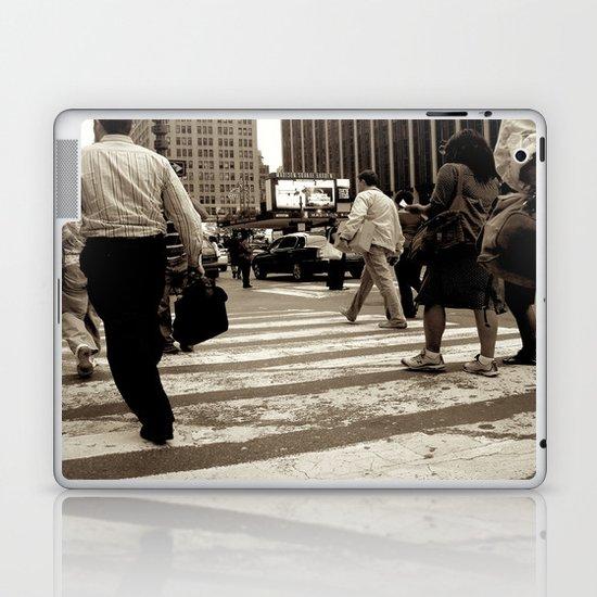New York City _Rush hour Laptop & iPad Skin