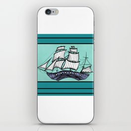 Oh, Ship. We're Going Down iPhone Skin