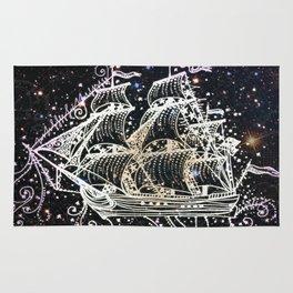 The Great Sky Ship II Rug