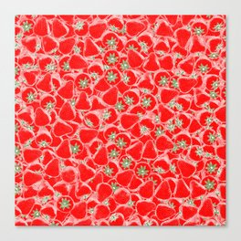 Strawberry Summer Canvas Print