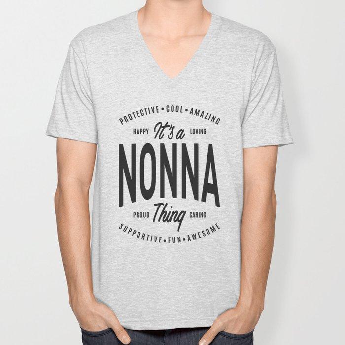 Nonna Thing Unisex V-Neck