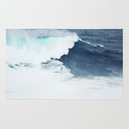 Wave Surfer Indigo Rug