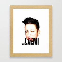 TOILET CLUB #laemi Framed Art Print