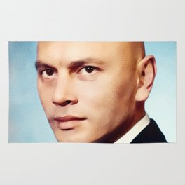Yul Brynner, Hollywood Legend Rug