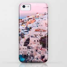 Oia town Santorini iPhone 5c Slim Case