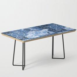 Shibori Quilt Coffee Table