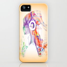 Let the Music Flow iPhone Case
