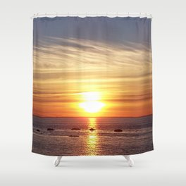 Gaspesie Sunset Shower Curtain