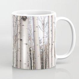 Tall Birch Forest Coffee Mug