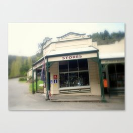 Walhalla - The Corner Stores Canvas Print