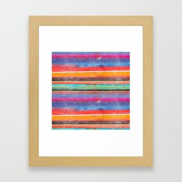 cosmic serape I Framed Art Print