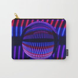 Red and Blue in the glass ball Carry-All Pouch