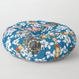 Rotary Bug on The Canal Floor Pillow