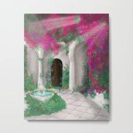 Giardino segreto Metal Print