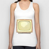 tv Tank Tops featuring Television* by Mr and Mrs Quirynen