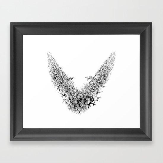 Bite The Lightning Framed Art Print