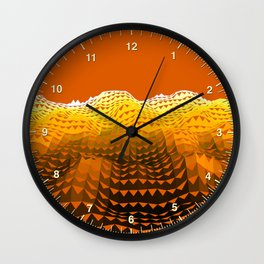 Dune Wave Wall Clock