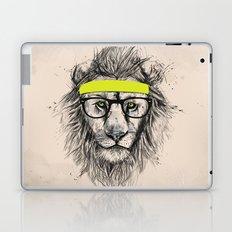 Hipster lion (light version) Laptop & iPad Skin