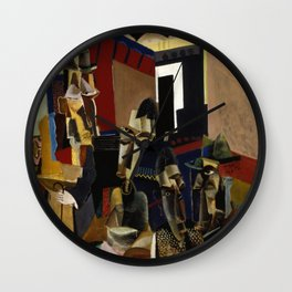 Max Weber - The Visit Wall Clock